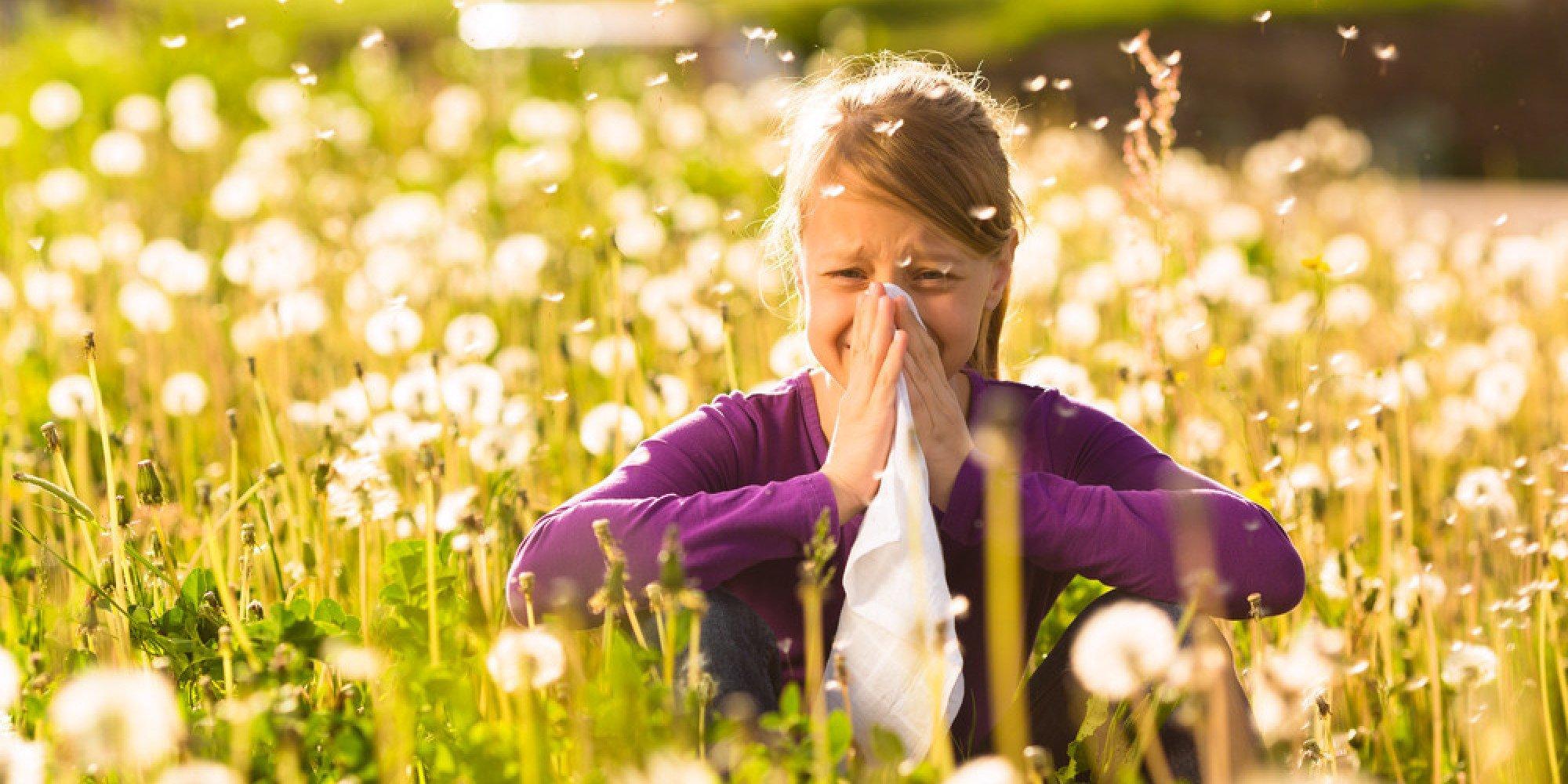 Аллергия цветы